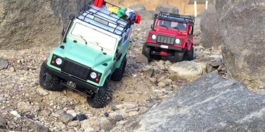 ماشین کنترلی صخره نورد D90