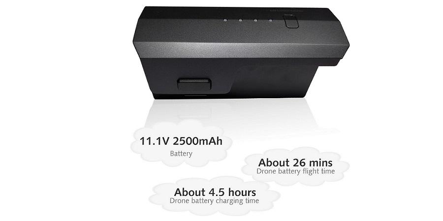 باتری کوادکوپتر F11 4k pro