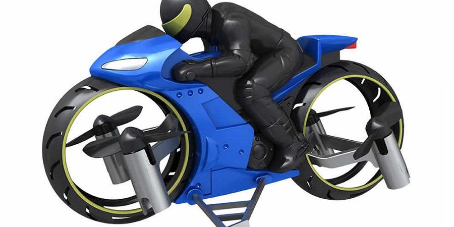 کوادکوپتر-موتورسیکلت