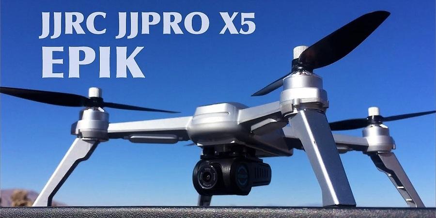 خرید کوادکوپتر حرفه ای JJRC X5