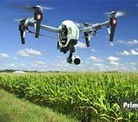 استفاده کاربردی از هگزا کوپتر برای آبیاری و سم پاشی مزرعه ها