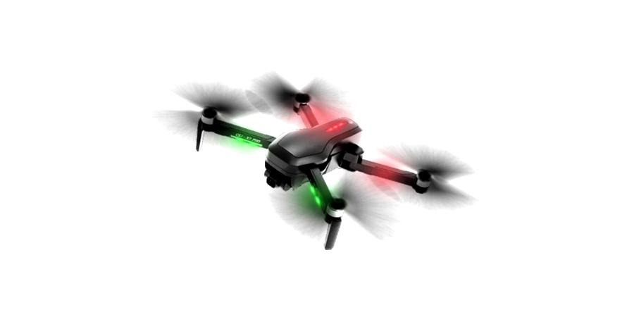 کوادکوپتر دوربین دارد با چراغ LED برای پرواز در شب