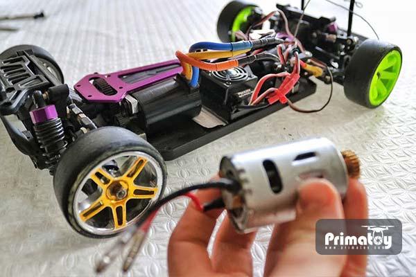 تعویض موتور ماشین کنترلی برای افزایش سرعت