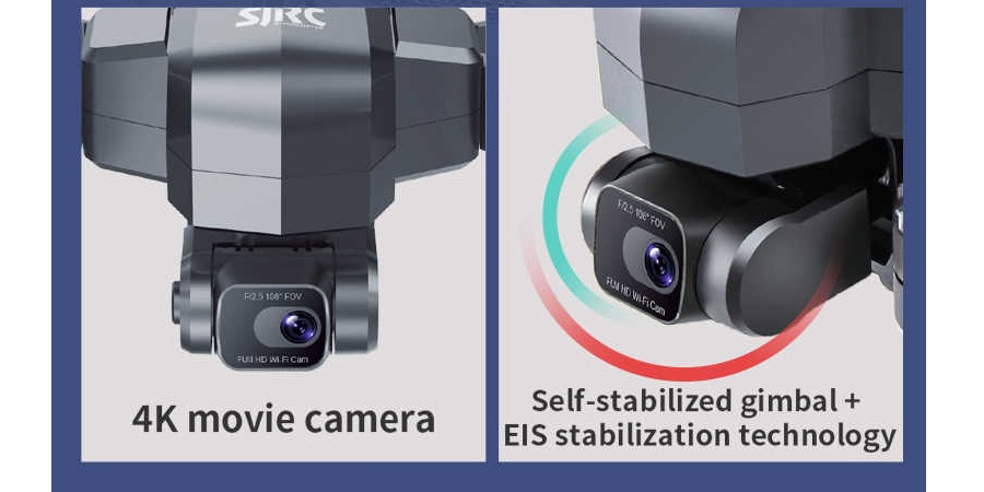 دوربین هلی شات F11 4k pro