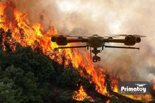 استفاده از هلی شات آتش نشانی در جنگل ها