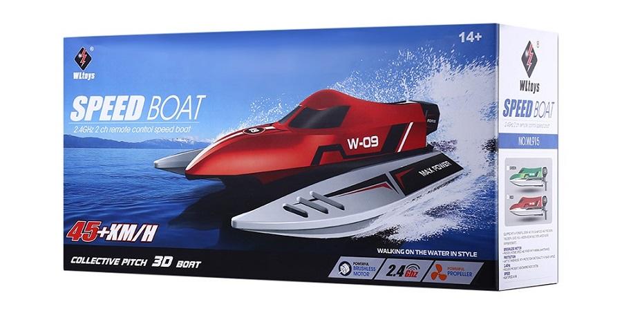 قایق کنترلی WLtoys wl915