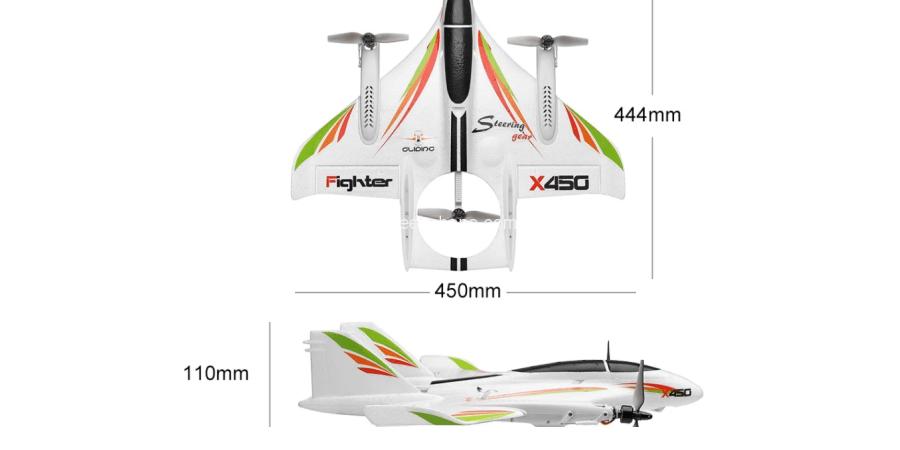 هواپیمای کنترلی X450