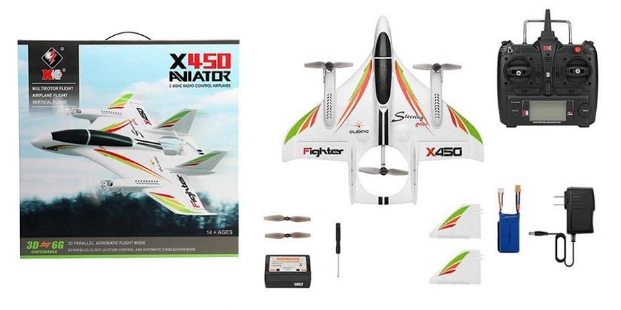 هواپیمای مدل Xk X450