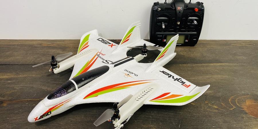 هواپیمای عمود پرواز X450