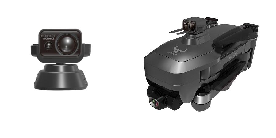 کوادکوپتر SG906 MAX دارای سنسور عدم برخورد